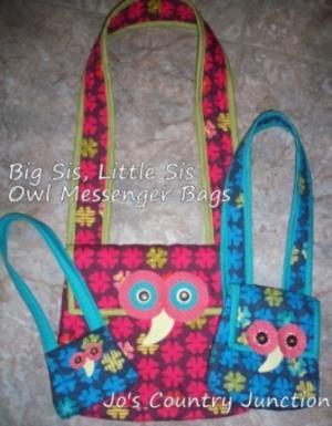 Owl Messenger Bags