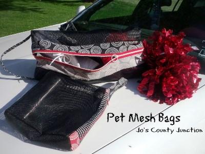 Pet Mesh Bags
