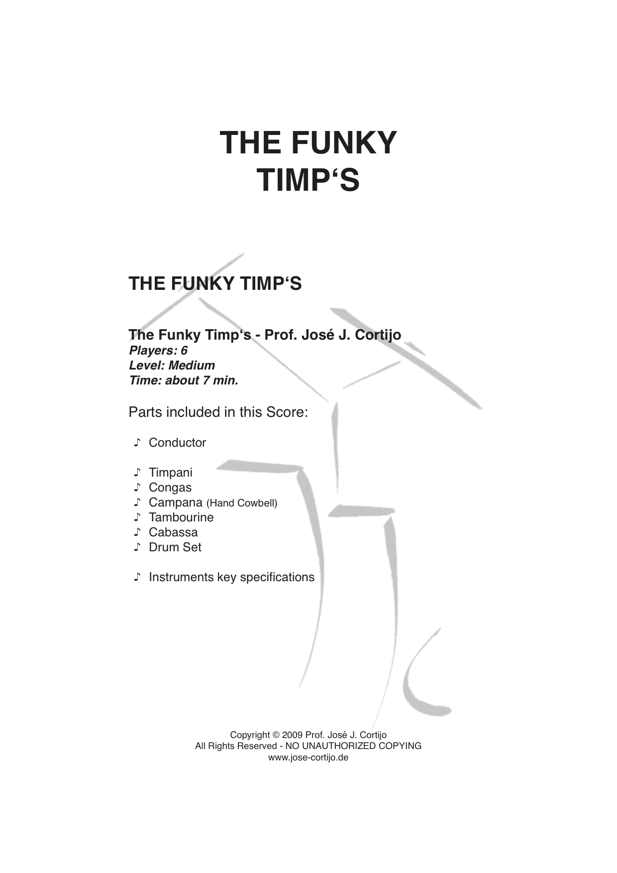 hight resolution of the funky timp s