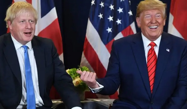 Trump, Johnson Talk Security Ahead of Huawei Decision