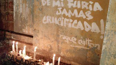 Velatón en Casa Memoria José Domingo Cañas