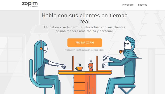 Zopim: Herramienta para chat en tiempo real en eCommerce