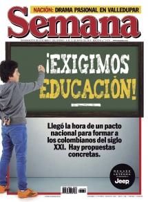 Exigimos Educacion Revista Semana
