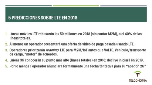 LTE Mexico 2018