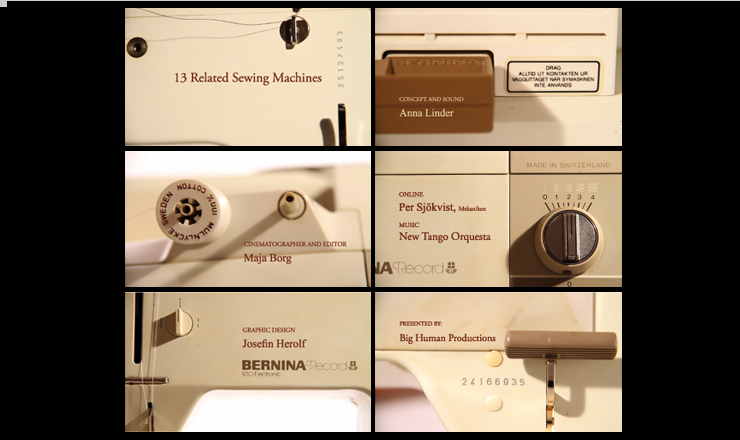 Anna Linder: 13 Related Sewing Machines