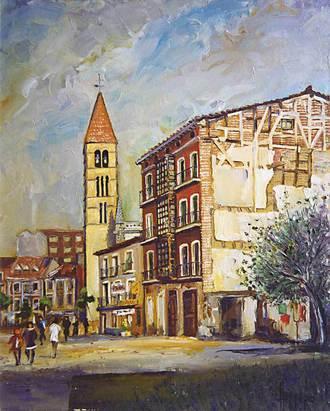 Exposicion de Pintura en Valladolid 1989 Caudros de Jos