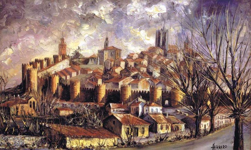 Herrero dibujante y pintor de vila