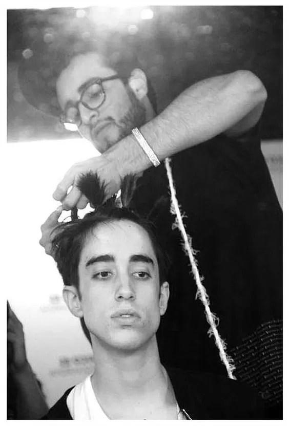 Backstage Jose Luis Lozano fotografo photographer