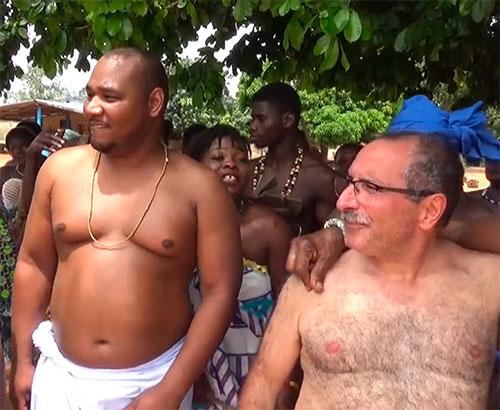 Cérémonies  Vaudou africain Togo Octobre 2018
