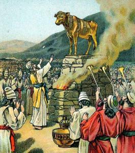 Worshipping the Calf