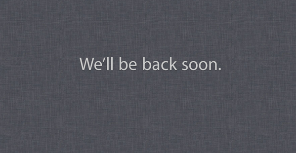 Apple, you are such a tease. http://t.co/VSdySCCV3...