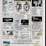 Lincoln Enterprises comic book ad! Star Trek!