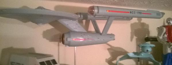 Adventures in model making - Building the 1/350th scale Enterprise