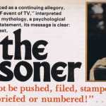 The Prisoner, explained, from Starlog issue 11