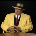 Dick Tracy, Interviewed by Leonard Maltin