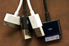 USB and iThing Connectors