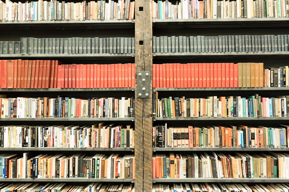 The Johnson Publishing Library reading room.