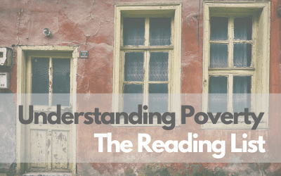 Understanding Poverty: The Reading List
