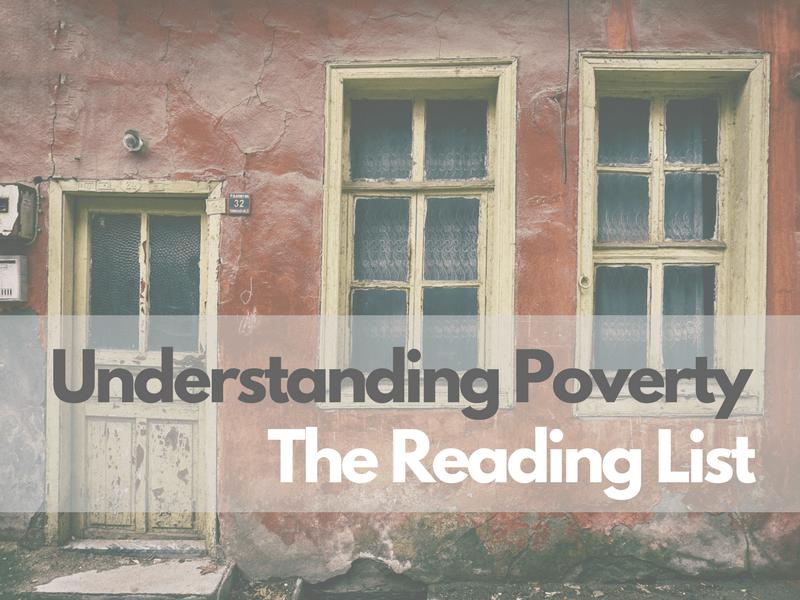 Understading Poverty: The Reading List