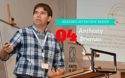 Reading Interview Episode 4: Anthony Bosman