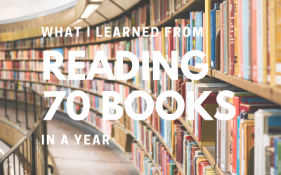What I Learned From Reading 70 Books in a Year