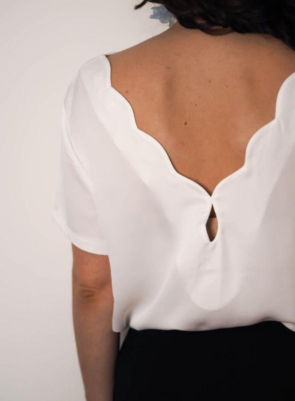 camisa blanca detalle espalda Josephine Looks 3