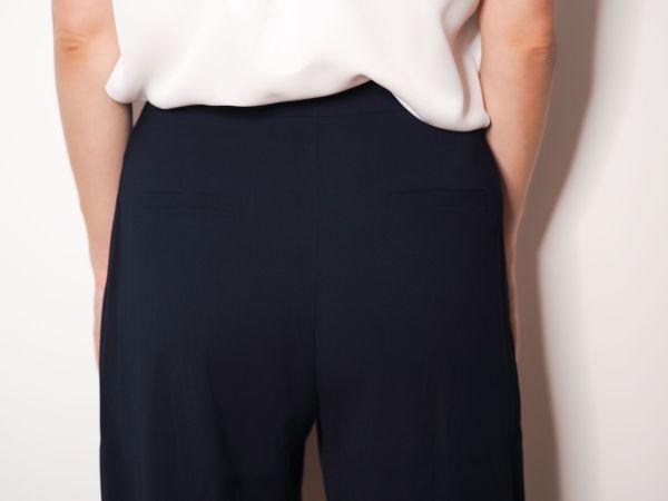 pantalon sastre azul marino Josephine Looks 2