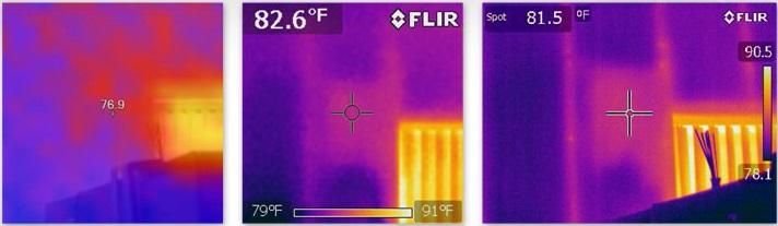 Using Infrared cameras for leak detection.