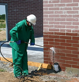 Chemical masonry cleaning
