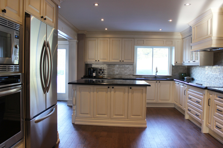 kitchen cabinets light wood shaker style toronto, thornhill custom classic design