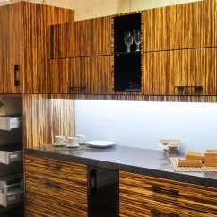 Bamboo Kitchen Cabinets Cabinet Supplies Modern Zebra Metal Box Pull Out Drawers