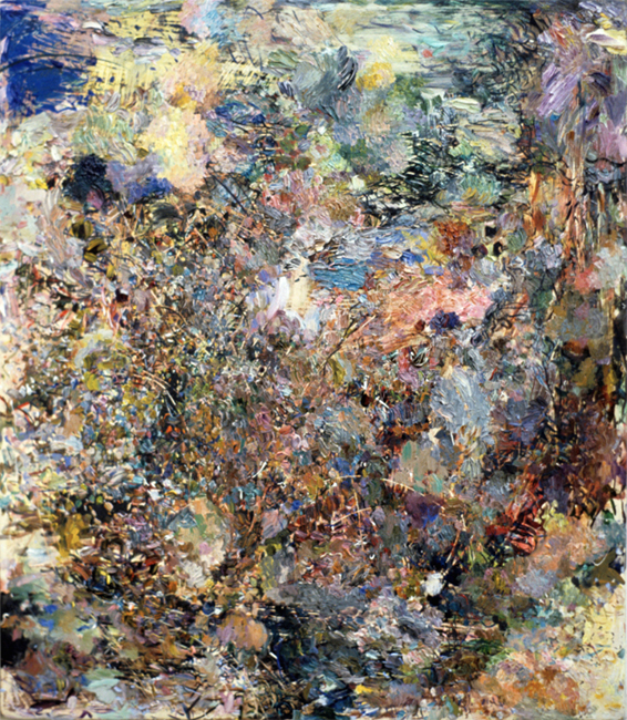 Cancer, oil on canvas, 16 x 14 inches, 1981-82. Private Collection.