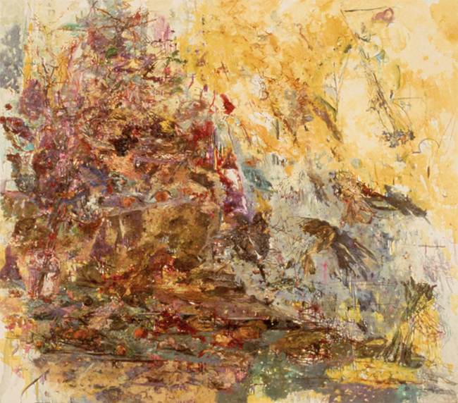 Year of the Ox, oil on canvas, 45 x 52 inches, 1985. Collection of the Metropolitan Museum of Art, New York, NY.