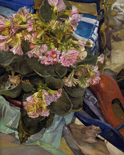 Kalanchoe, oil on canvas, 10 x 8 inches, 2005. Private collection.
