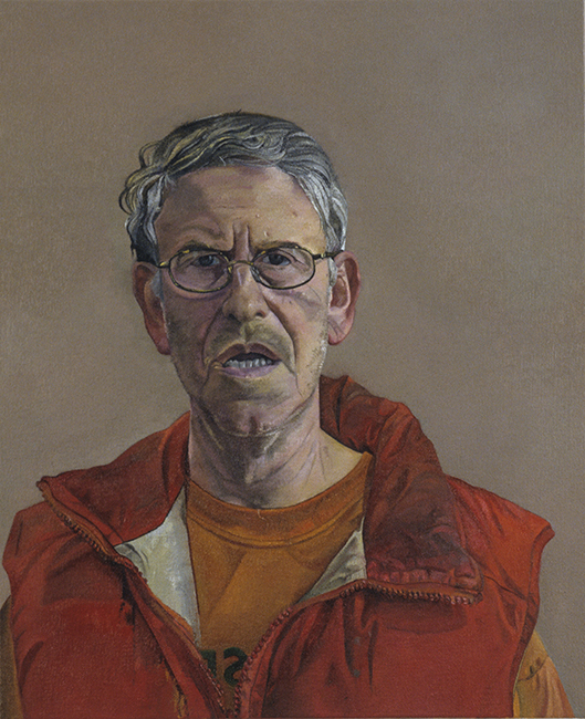 Self Portrait, oil on linen, 22 x 18 inches, 2006. Collection of the Artist.