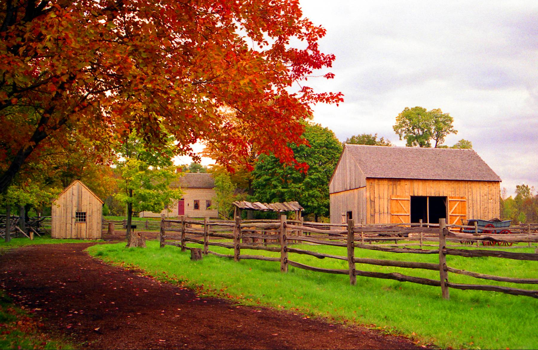 Fall In New England Wallpaper Adam Ondi Ahman Missouri Place