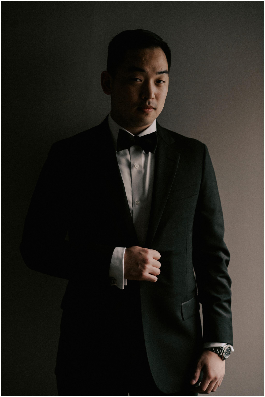 Won Joo Sang Wedding Photography The Sam Houston Hotel