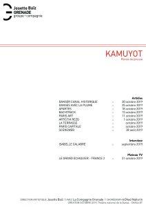 Revue de presse KAMUYOT