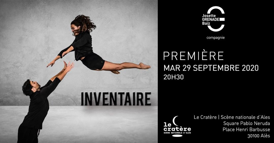 Inventaire Première-Le Cratère Alèes