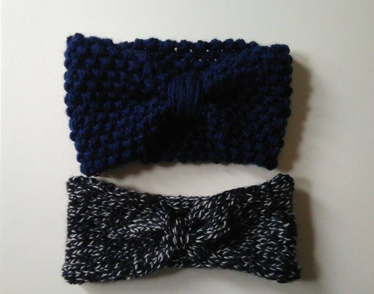 Tuto tricot pour réaliser un headband facilement avec des restes de laine.