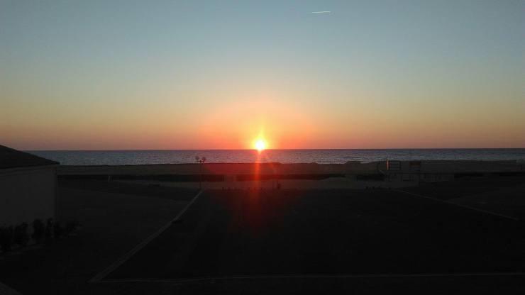 Les 4 saisons : l'été dans les Landes et ses couchers de soleil...