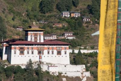 Bhutan - Paro. Rinpung Dzong.