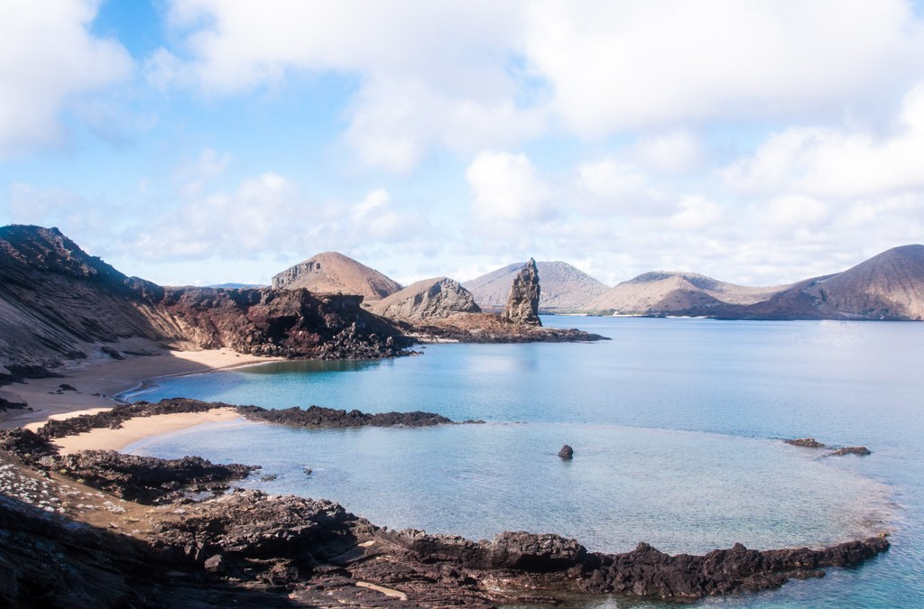 Galapagos- Pinnacle Rock.