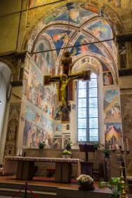 Arezzo San Francesco Basilica.