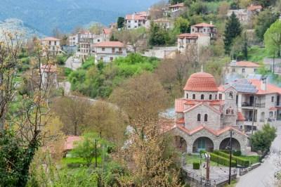Greece - Pindus, Megalo Horio.