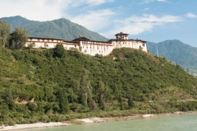 Bhutan - Wangdi Dzong.