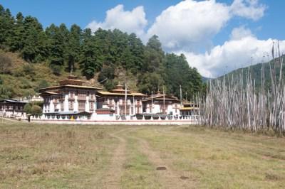 Bhutan - Kurje Lhakhang temple.