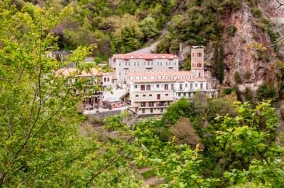 Proussos Monastery.