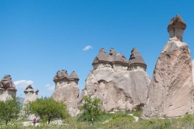 Turkey - Cappadocia Monks Valley.