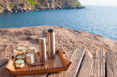 Mumbo Island - Morning coffee with a view